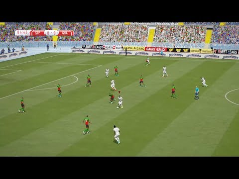 Sao Tome vs Ghana | Qualification Coupe d'Afrique CAN 2021 | 18 November 2019 | FIFA 15