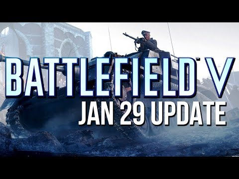 Battlefield V Update adds new Tank, Map changes and more!