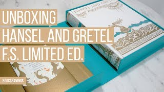 Unboxing The Folio Society Limited Edition Of Hansel And Gretel | BookCravings