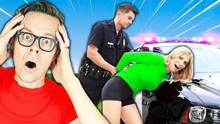 POLICE ARREST REBECCA after STOLEN CAR REVEAL!