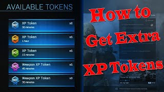 How To Get Extra XP Tokens Modern Warfare