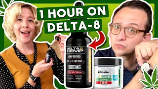 How Do You Feel After ONE HOUR on Delta-8 THC? 🕐 by That High Couple