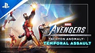 PlayStation Marvel's Avengers - Tachyon Anomaly Event Trailer   PS5, PS4 anuncio