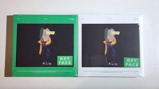 Gambar cover ♡Unboxing Key 키 1st Studio Album FACE 페이스 (Green & White Ver.)♡