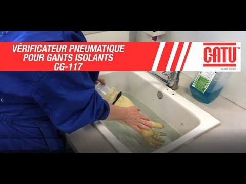 essayeur pneumatique pour gants isolants