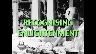 Talks On Sri Ramana Maharshi: Narrated By David Godman - Recognising Enlightenment