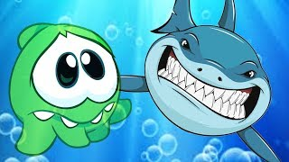 Om Nom Stories - SHARK V/S Om Nom | Cartoon for Kids | Om Nom Hindi