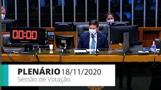 Plenário - Discussão e votação de propostas - 18/11/2020 13:55