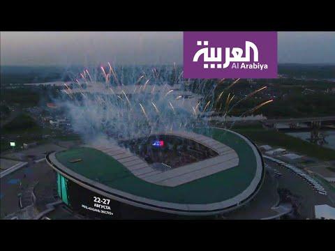 العرب اليوم - شاهد: مشاهد إبداعية عالمية رائعة بمسابقة الحرف في روسيا