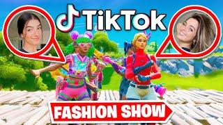 *TIKTOK* Fortnite Fashion Show! FIRE Skin Competition! Best COMBO WINS!