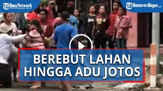 Berebut Lahan Pekerjaan, Gelandangan dan Pengamen Adu Jotos di Kota Mojokerto