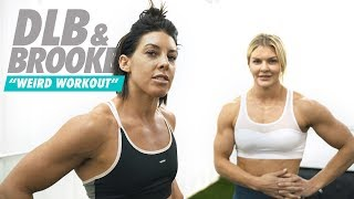 DLB DOES BROOKES WEIRD WORKOUT | #DLBDAILY