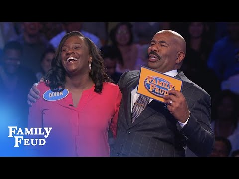 HYSTERICAL Fast Money - Don't miss the ENDING!!! | Family Feud
