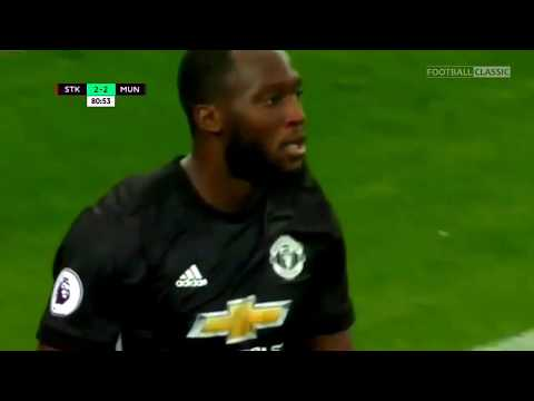 Manchester United VS Stoke City 2 - 2 Highlights