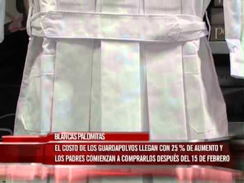 Los guardapolvos y delantales se venden un 25% de aumento respecto del 2014