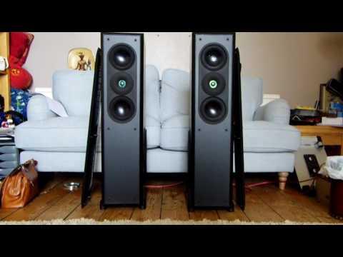 AR Acoustic Research AR9 speakers Floorstanding Hi-Fi separate loudspeakers