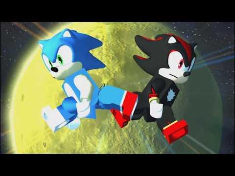 Lego Dimensions - Sonic vs  Shadow - Generations Mod
