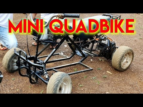 Mini ATV Quad Bike DIY