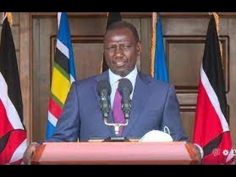 LIVE: DP Ruto addressing the press at his Karen residence