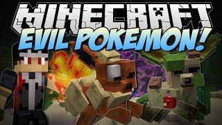 Leafeon  - (Pokémon) - Minecraft   EVIL POKEMON! (Mutant Flareon, Leafeon, Deerling & More!)   Mod Showcase