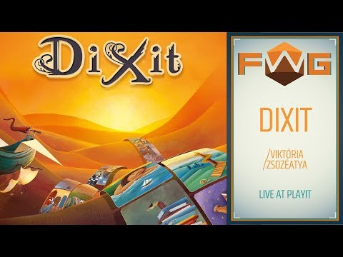 Dixit | Live @ PlayIT 2018 (Viktória, Zsozéatya) - Fun With Geeks