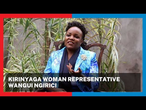"""""""Mt. Kenya will only support ideologies and manifestos, that is what we believe in,"""" Wangui Ngirici"""