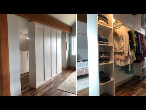 How to Build a Room Divider Closet