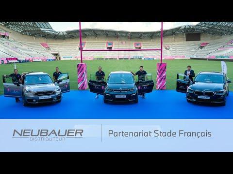 Partenariat NEUBAUER - STADE FRANÇAIS