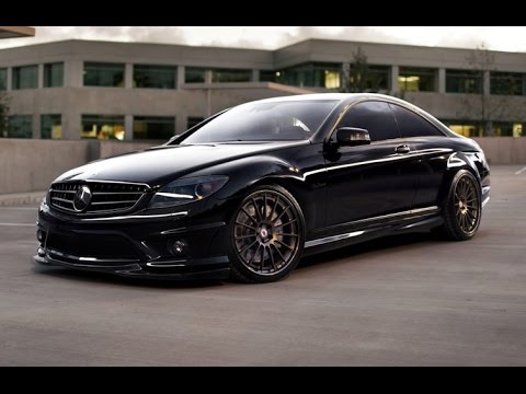 Chapparone Mercedes-Benz CL63 AMG with HRE Wheels
