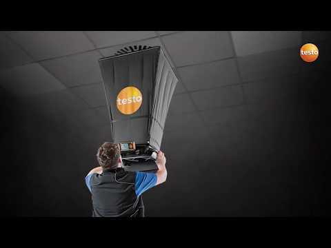 Balometr - TESTO 420, miernik przepływu powietrza, anemometr - zdjęcie