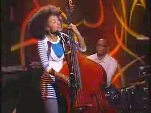 "Esperanza Spalding ""She Got To You"" on Jimmy Kimmel Live"