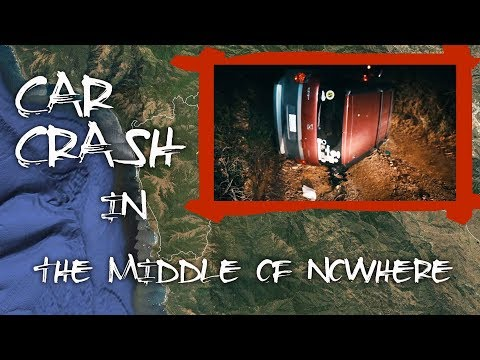 Mysterious Car Crash In The California Mountains