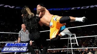 The Usos vs. Seth Rollins & Roman Reigns: SmackDown, Dec. 13, 2013
