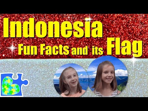 Play-Doh FLAG Of INDONESIA! || Indonesia Fun Facts II Flags Of The World