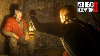 Capturing The Devil Cave Hermit! What Is He Hiding Red Dead Redemption 2 Secrets [RDR2]