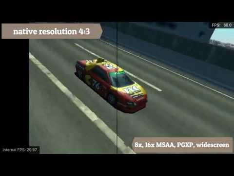 RetroArch test (Beetle PSX HW) - Driver 2, 16:9, 4x upscale