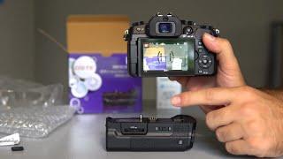 $40 Panasonic G85/G80 Battery Grip - DSTE Neewer Review