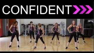 """""""Confident"""" by Demi Lovato. SHiNE DANCE FITNESS by SHiNE DANCE FITNESS"""