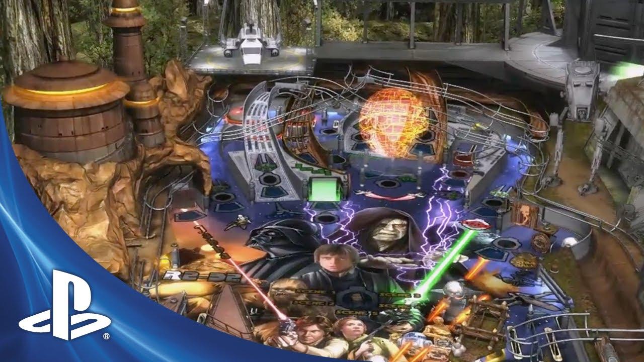 Star Wars Pinball: Balance of the Force Coming to PSN