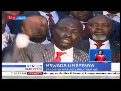 Baadhi ya wabunge hususan wa Jubilee na NASA walitofautiana kuhusu mswada wa fedha