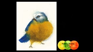 Watercolor Demo-  Fun Quick Demo For #weeklychallenge