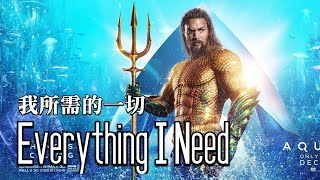 【水行俠】片尾歌曲 Skylar Grey - Everything I Need 中英歌詞 #水行俠 #海王