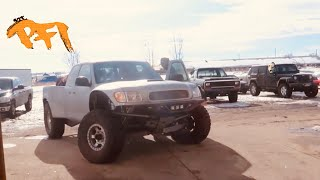 Supercharged Toyota OFFROAD truck finds smooth power!!