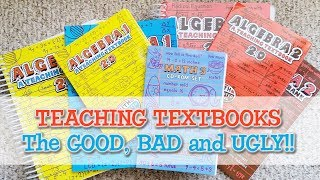 Teaching Textbooks Review:  the Good, the Bad and the Ugly, Keeping it REAL