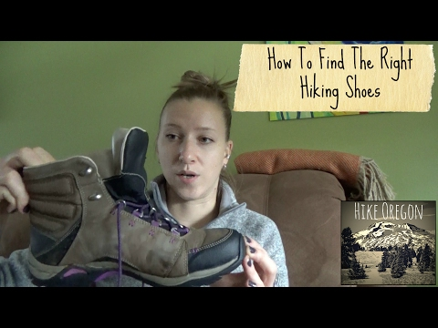 How To Find The Right Hiking Shoes