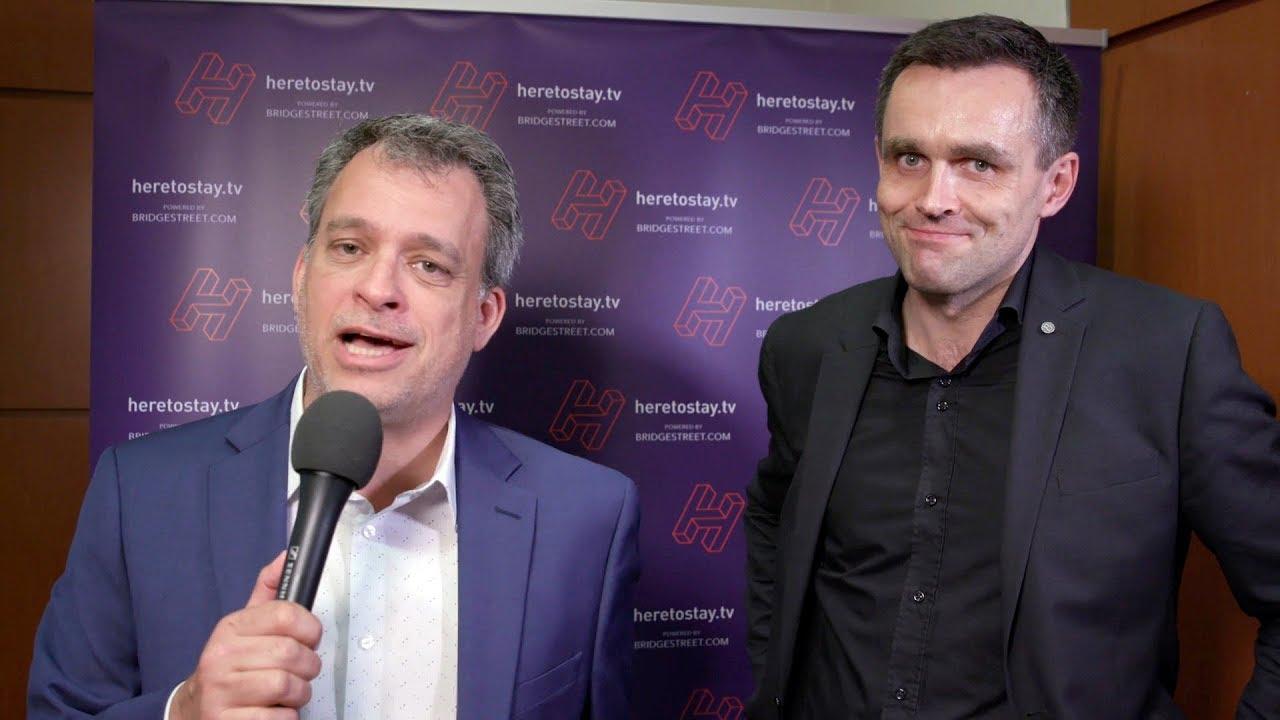 Heretostay TV at SASEU 2018: Steve Burns, BridgeStreet