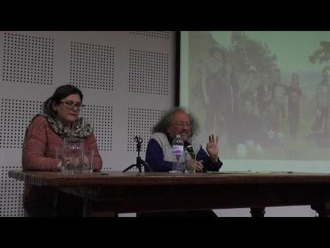 Conferencia del profesor Carlos Páramo. Sierpes luminosas, huacas...
