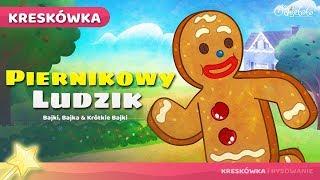 Piernikowy Ludzik | Bajka dla dzieci po Polsku.