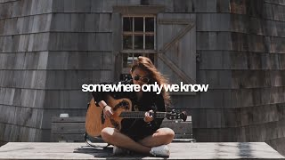 Somewhere Only We Know - Keane    Reneé Dominique