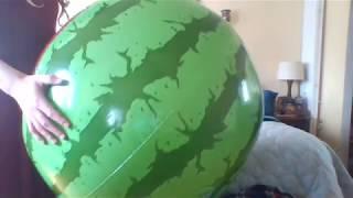 huge water melon belly